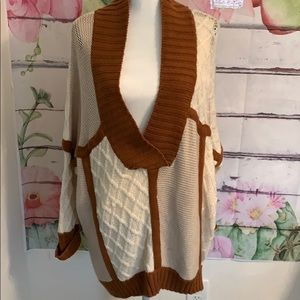 525 America oversized long sweater